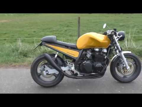 Cafe Racer Kawasaki Z 750 Youtube