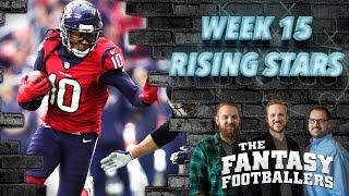 Fantasy Football 2016 - Week 15 Studs, Duds, Rising Stars, Championship Prep - Ep. #330