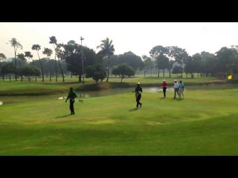Golfing at Kurmitola Golf Club