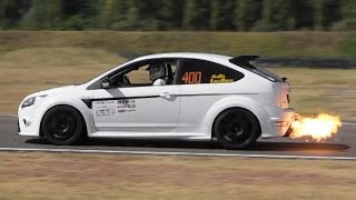 Ford Focus RS MkII Sound - Turbo 5-Cylinder Engine