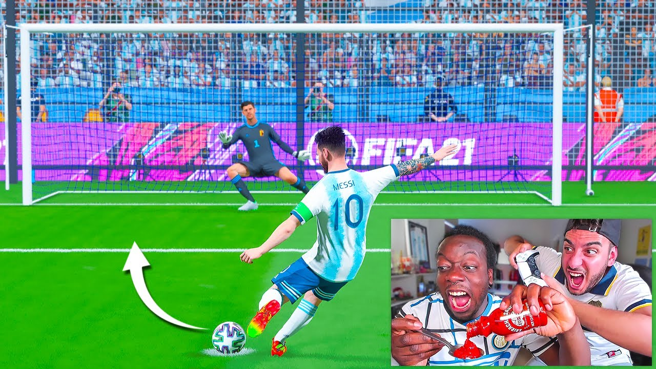 PENALTIS DEL INFIERNO (Eurocopa vs Copa América) 2021