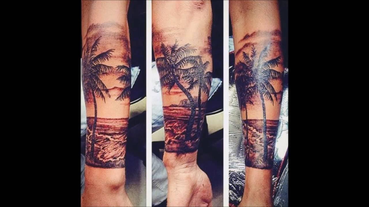 Image result for tatuaje de playa