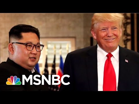 President Donald Trump Eagerly Anticipates Meeting With North Korean Leader | The 11th Hour | MSNBC