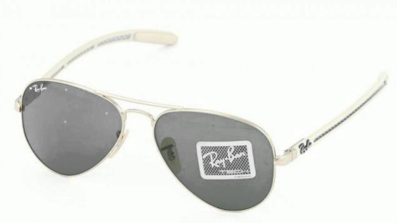 Ochelari de soare RAY BAN CARBON FIBRE rayban-world.ro