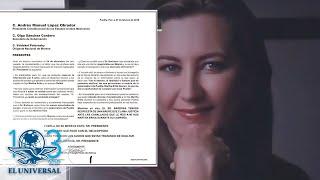 Esta es la carta de la madre de Martha Erika Alonso a AMLO