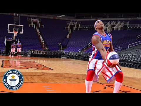 Best of the Harlem Globetrotters - Guinness World Records Day 2020