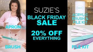 Suzie's Black Friday Sale! Brush and Files Now Sold Separately