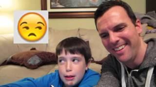 eh bee family 臉部表情挑戰 emoji face challenge