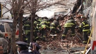 NYC Building Explosion Aftermath: On the Scene
