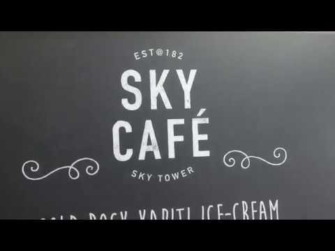 Sky Cafe | Sky tower | Auckland | New Zealand