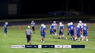 LCA vs Lexington Catholic - Middle School Football 8th Grade
