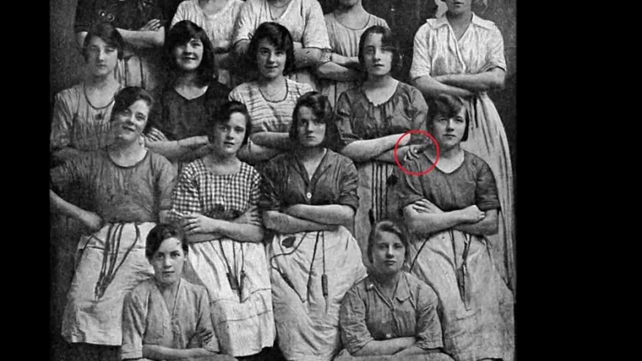 Descubren foto antigua con una mano fantasma youtube - Fotos antiguas de macael ...