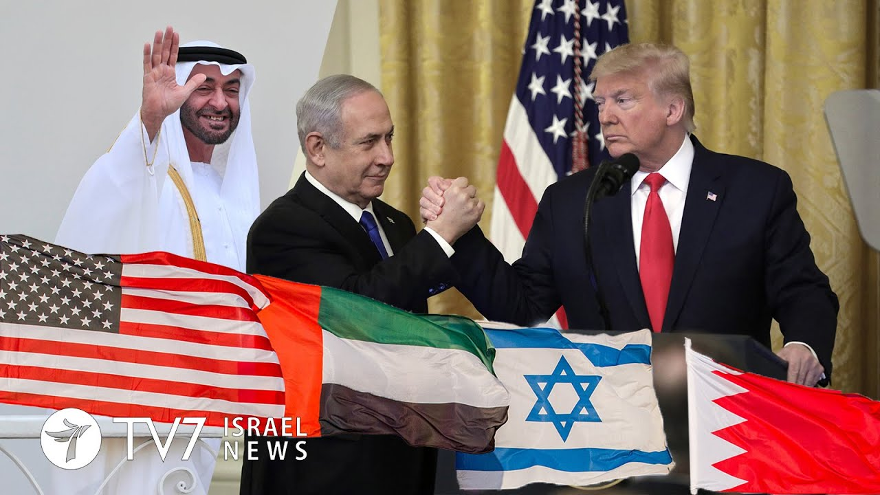 U.S., Israel, U.A.E., Bahrain Sign Peace Accord
