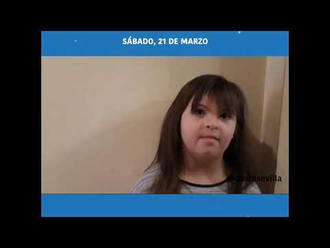 21 de Marzo. Día del Síndrome de Down.