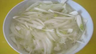 Самый вкусный маринованный лук для салатов