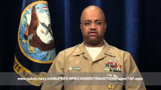 U.S Navy Reserve Force Master Chief Discusses Transition GPS Program