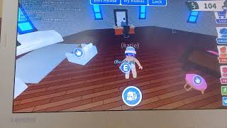 Josh trys to poo in my hottub/ roblox adopt me