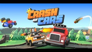 Crash of Cars .IO gameplay. First Look
