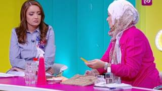سميرة الكيلاني - طريقة تركيب مادة لتنظيف الدهون وازالة الستيكرز والملصقات عن المرطبات
