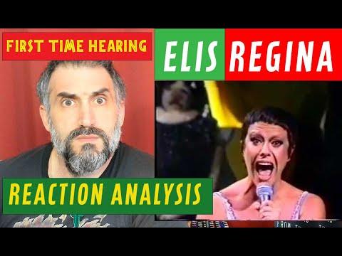 Elis Regina - Como Nossos Pais - singer reaction Analysis