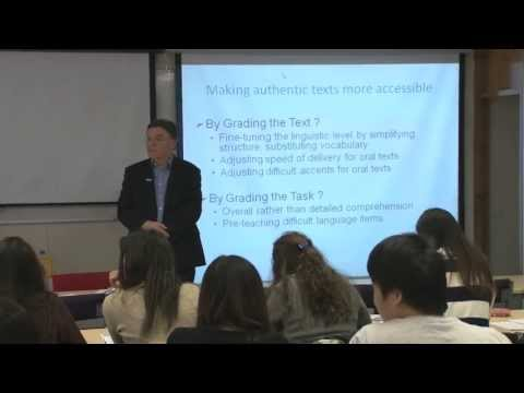 Authenticity in TESOL (Teaching English to Speakers of Other Languages)