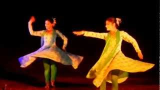 Sharmistha Mukherjee and group performing kathak in IBAM 2012.MOV
