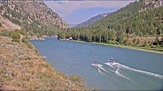 Alpine Wyoming Snake River Splash Mob thumbnail