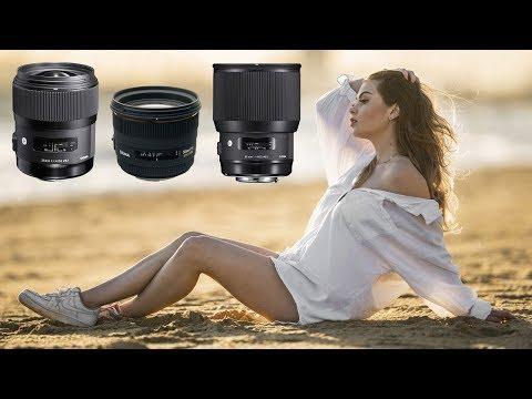 35mm Vs 50mm Vs 85mm Vs 200mm Portrait Photography Lens Comparison