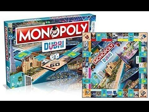 Hasbro Monopoly Dubai Official Edition 1 DGR - YouTube