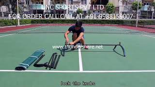 UNC SPORTS PVT LTD Tennis Training Net D518