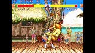 Street Fighter 2 Champion Edition (Arcade) Chun Li Playthrough 2/4