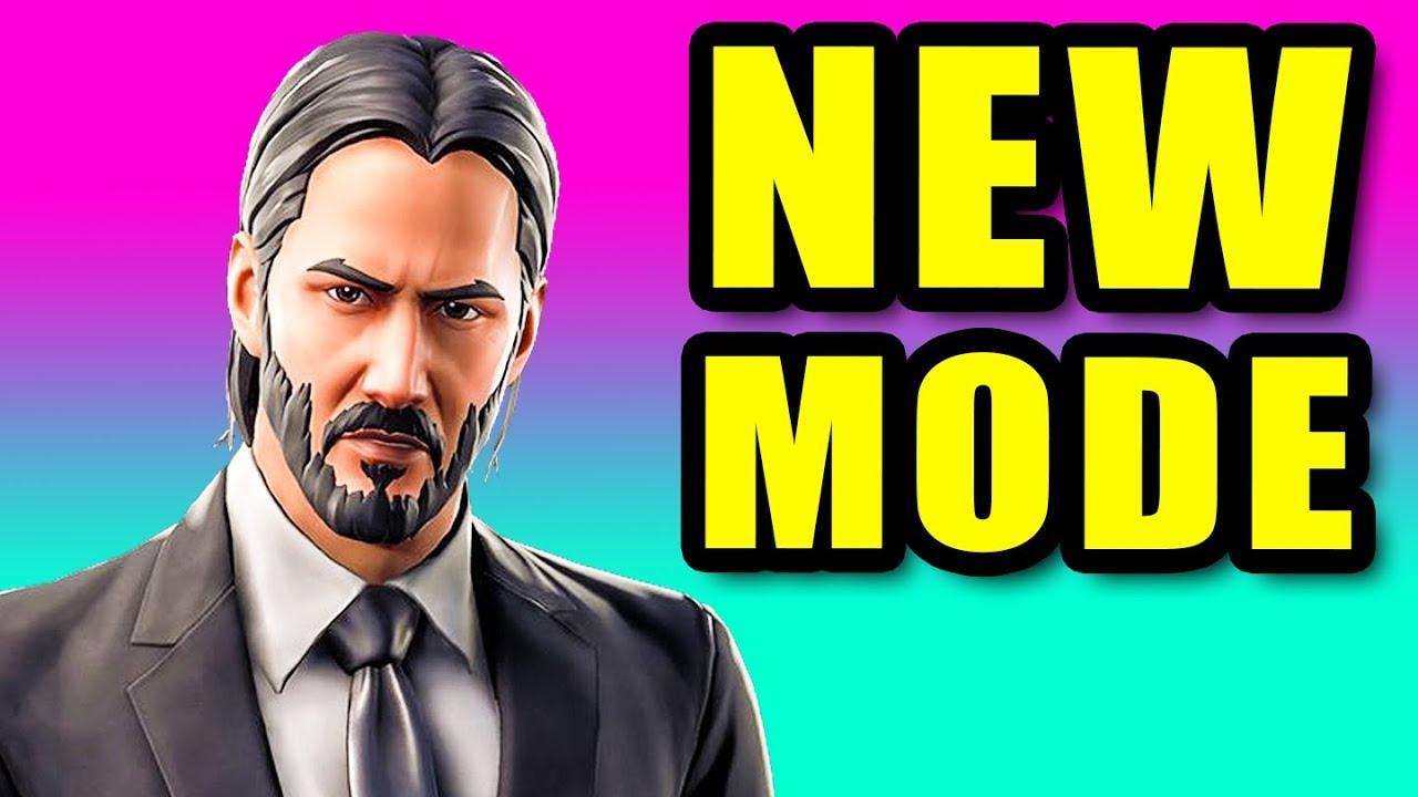 Fortnite's John Wick mode is live