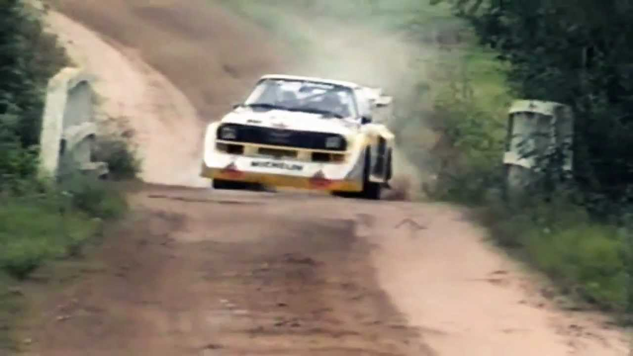 Insane Audi Quattro Sport S1 1000 Lakes Group B Rally Pure Engine Sound