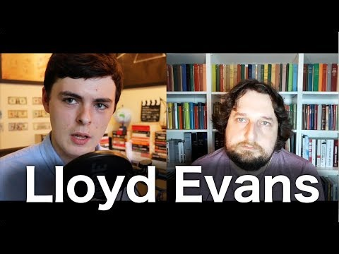 Something You Need To Know About: An Interview with Lloyd Evans