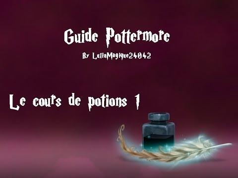 Guide Pottermore // Le cours de potions #1...