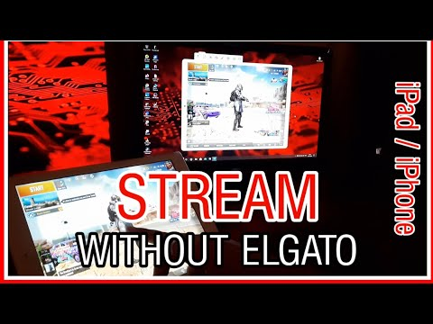 How To Stream From IPad / IPhone Without Elgato Capture Card ( HINDI )