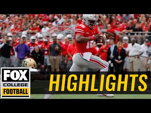 Army vs Ohio State | Highlights | FOX COLLEGE FOOTBALL