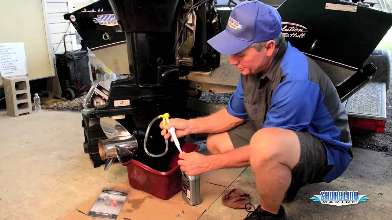 How to Change Gear Lube on an Inboard/Outboard Motor