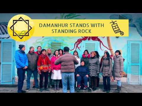 Damanhur to the Standing Rock Sioux Tribe