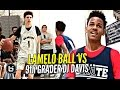LaMelo Ball Gets Challenged by 9th Grader DJ Davis! Ankle Bully CEO vs Bucket Team CEO Mini Battle!