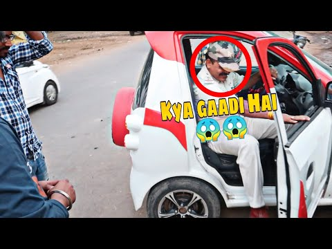 STOPPED By POLICE | Worlds Smallest CAR 😍😱