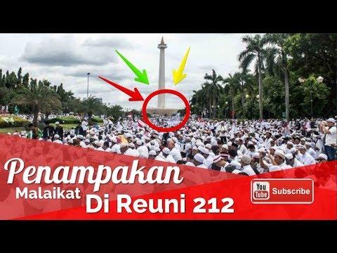 Subhanallah! Penampakan Malaikat Di Reuni Akbar Aksi 212 Monas 2017