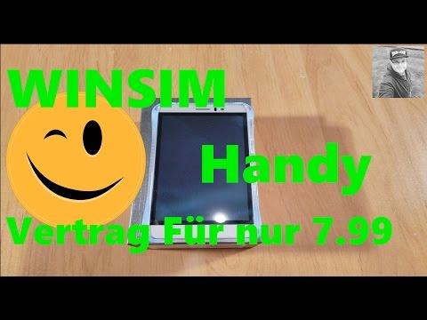 Kurzer blick auf Winsim  Allnet Für 7,99 mit 2GB LTE