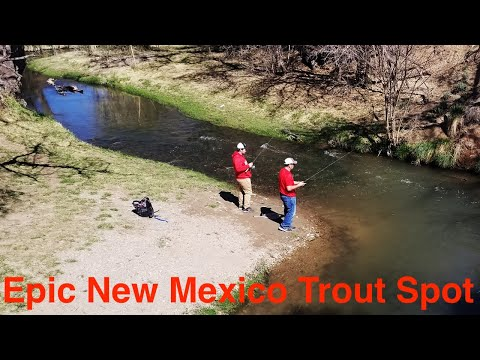 Trout Fishing The Lower Ruidoso River