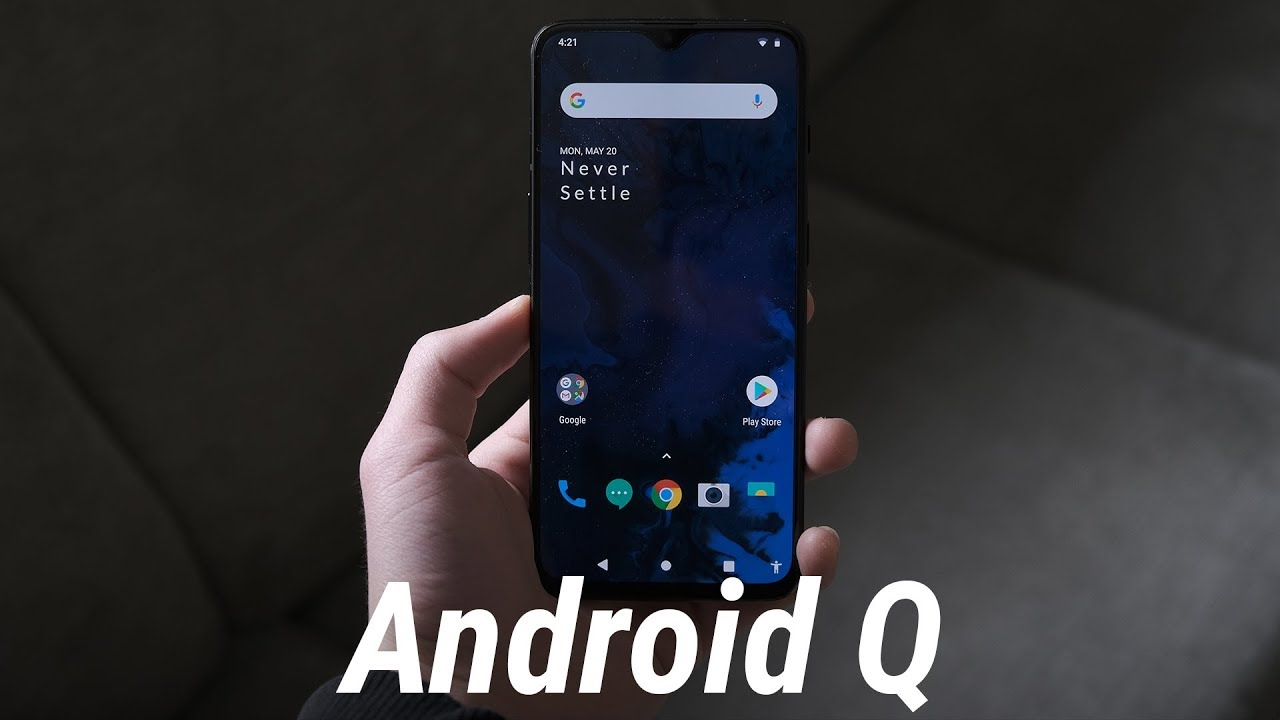 Using Android Q on the OnePlus 6T