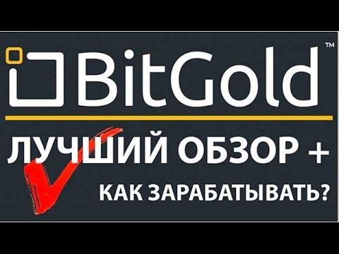 BitGold - обзор компании. Зарабатывать золото стало просто!  Не спи!