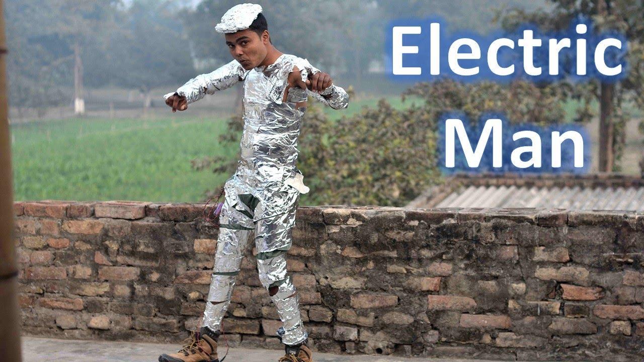 I Made Myself Electric Man And Big Tesla Coil
