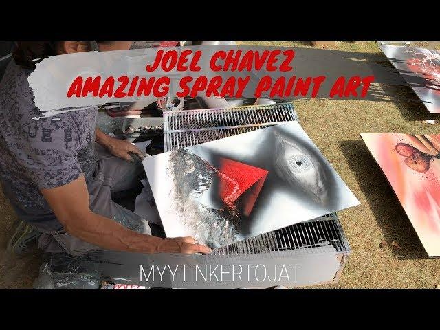 Joel Chavez - Amazing Spray Paint Art