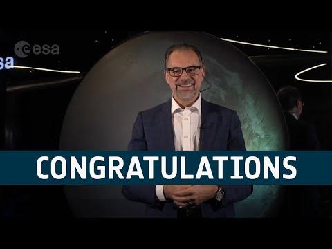 Josef Aschbacher congratulates Crew 2 | Mission Alpha