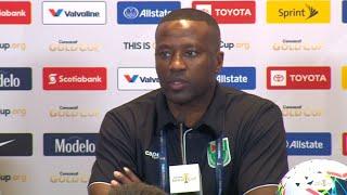 Michael Johnson - USA vs Guyana Press Conference